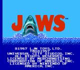 Jaws NES Title screen