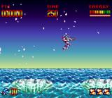 Super Turrican SNES If you to remain much time in top of these ice blocks, they will go to sink. Then, jump fast!