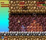 Super Turrican SNES Collect many diamonds and earn many points. Your score will be thankful later...