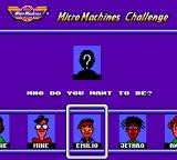 Micro Machines SEGA Master System Player selection