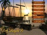 Port Royale 2 Windows Main menu.