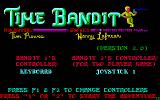 Time Bandit DOS The title screen.