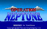 Operation Neptune DOS Title screen