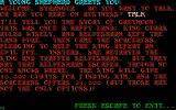 Time Bandit DOS An interlude of interactive fiction.