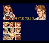 Fighter's History SNES Player selection. Notice the uncanny resemblance to some of the characters from Street Fighter 2