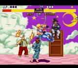 Fighter's History SNES Some fighting going on