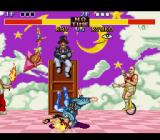 Fighter's History SNES A body slam drop