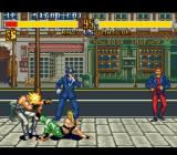 Fighter's History SNES Fighting in the streets of London