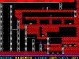 Lode Runner ZX Spectrum Running away just from one angry enemy