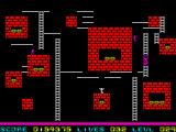 Lode Runner ZX Spectrum Some boxes of gold are hard to get