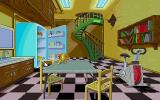 Time Riders in American History DOS The game is full of easter eggs such as the dancing chicken in the kitchen fridge.