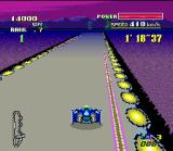 "F-Zero SNES In some courses, the player will find left-pull and right-pull magnets. This objects attracts you off course. Avoid this ""attack"" driving in the opposite direction."