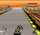 F-Zero SNES If you try cheat in the grid, your machine can collide with another one and acquire a beautiful color...