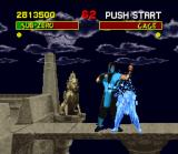 "Mortal Kombat SNES Sub-Zero has the ability to transform the opponents into ""sculptures"" during its fatality. And later..."