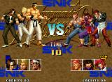 The King of Fighters '95 Neo Geo Order select. Which is the 1st fighter to fight?