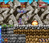 Super Turrican SNES When you reach the exit, you will suffer an bothering aerial attack...