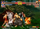 The King of Fighters '95 Neo Geo Who said that the humans can't dominate the nature powers?
