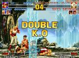 The King of Fighters '95 Neo Geo Something that couldn't happen at this moment is one draw game!