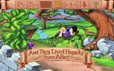 Mixed Up Fairy Tales DOS The game also lets you know when missions are completed. (MCGA/VGA)