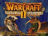 Warcraft II: Beyond the Dark Portal DOS Title screen