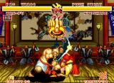 Samurai Shodown Neo Geo When this happens, press the A button quickly. Depending of how much you press, you and the opponent (or the two simultaneously) will leave to fall the weapons.