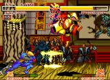 Samurai Shodown Neo Geo It is rare to find ninjas that throw electric spears.