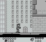 Spirou Game Boy Just starting the first level