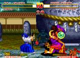 Samurai Shodown Neo Geo The energies of both fighters are very low. Can you win this combat?