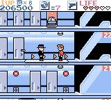 Elevator Action EX Game Boy Color Stage 4