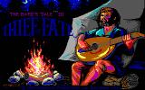The Bard's Tale III: Thief of Fate DOS Title screen