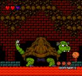 Bonk's Revenge TurboGrafx-16 The first boss