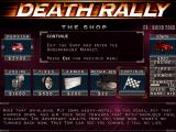 Death Rally DOS Upgrade your car
