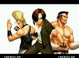 The King of Fighters '94 Neo Geo The classic Japan Team: Kyo Kusanagi, Benimaru Nikaido and Goro Daimon!