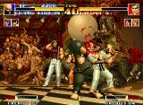 The King of Fighters '94 Neo Geo In fights, Chang uses his chain without mercy...