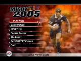 Rugby 2005 Windows Setup screens can be customized to feature your favorite team.