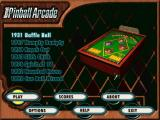 Microsoft Pinball Arcade Windows Table select screen