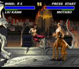 Ultimate Mortal Kombat 3 SNES Before to fight against the final boss, face a tough challenge: Motaro!