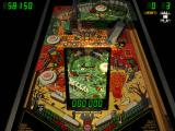 Microsoft Pinball Arcade Windows Haunted House - in the lower level, where the ball falls upward!