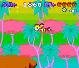 Chester Cheetah: Too Cool to Fool SNES Swinging cheetah