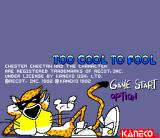 Chester Cheetah: Too Cool to Fool SNES Title screen 1