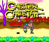 Chester Cheetah: Too Cool to Fool SNES Title screen 2