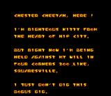 Chester Cheetah: Too Cool to Fool SNES Hey, Byron would never be able to compose such a great poem