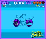 Chester Cheetah: Too Cool to Fool SNES Found scooter parts