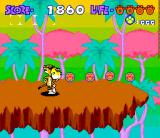 Chester Cheetah: Too Cool to Fool SNES Jungle level