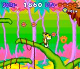Chester Cheetah: Too Cool to Fool SNES On a tree