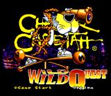 Chester Cheetah: Wild Wild Quest SNES Title screen