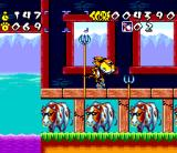 Chester Cheetah: Wild Wild Quest SNES Lances & cows