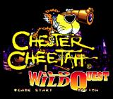 Chester Cheetah: Wild Wild Quest Genesis Title screen