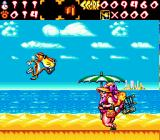 Chester Cheetah: Wild Wild Quest Genesis Fighting a boss