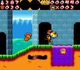 Chester Cheetah: Wild Wild Quest Genesis In front of a castle